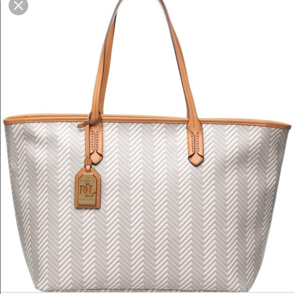 f343a4c4c848 Large Ralph Lauren Boswell Tote 👜 NWT